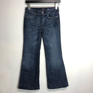 7 for all man kind DOJO jeans size 12 girls YOUTH
